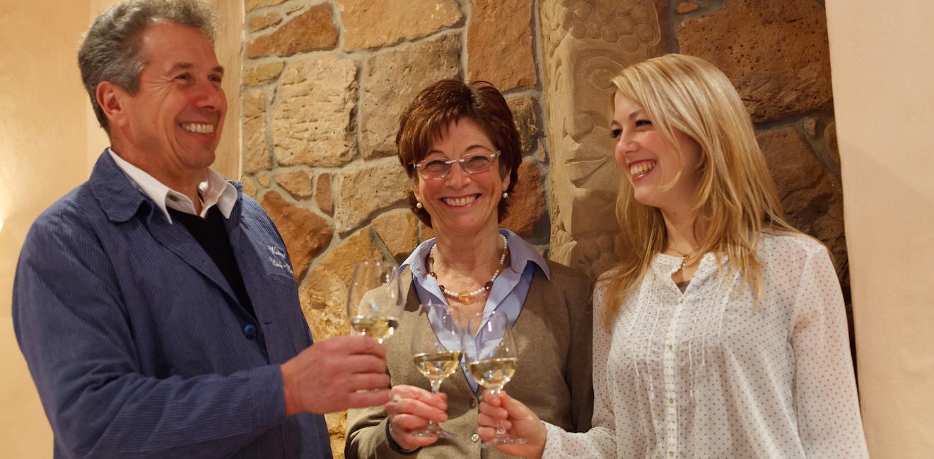 Alfred, Barbara, Melanie Kaub