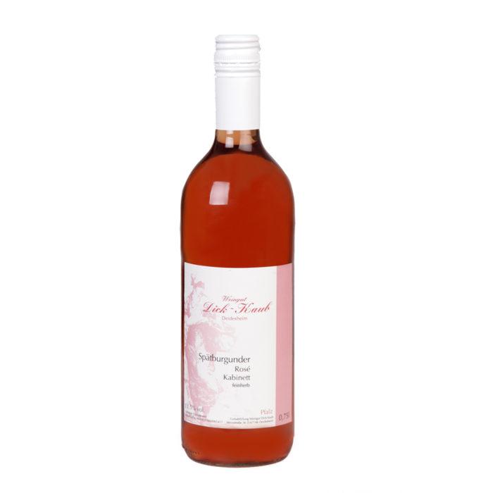 Spätburgunder Rosé feinherb